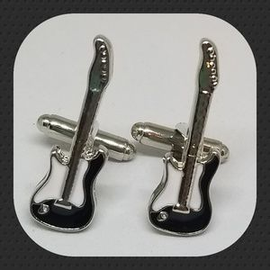 Other - Enamaled Electric Guitar Cuff Links